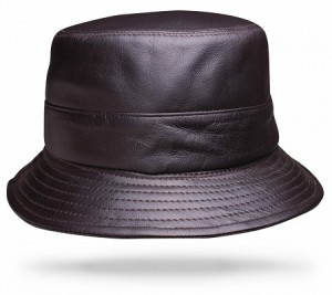 Images of Leather Bucket Hat