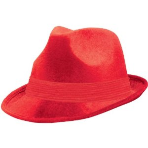 Images of Red Fedora Hat