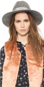 Ladies Wide Brim Fedora Hats
