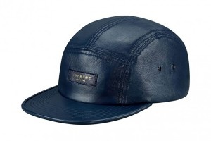 Leather 5 Panel Hat