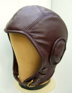 Leather Aviator Hat