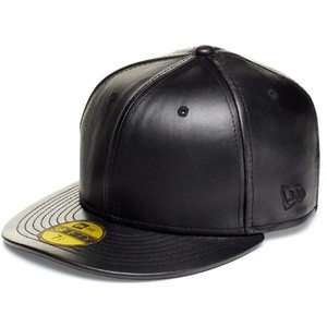 Leather Baseball Hat