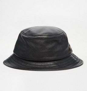 Leather Bucket Hat Images