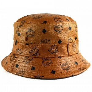 Leather Bucket Hats