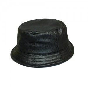 Leather Bucket Hats