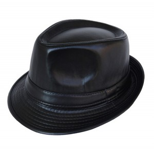 Leather Fedora Hats