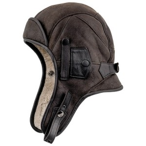 Leather Pilot Hat