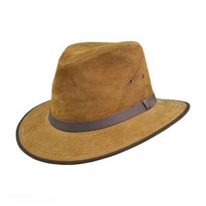 Leather Safari Hat