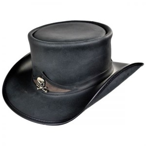 Leather Top Hats