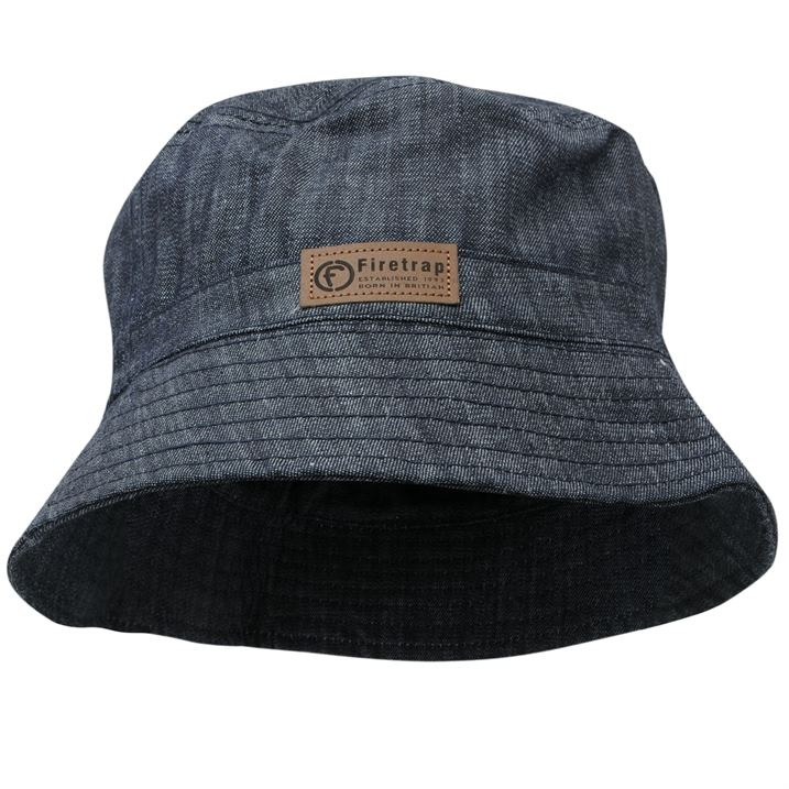Denim Bucket Hats Tag Hats