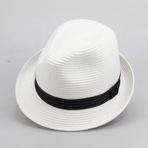Mens White Fedora Hats