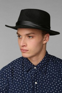 Mens Wide Brim Fedora Hats