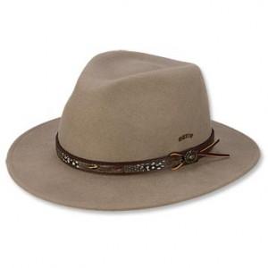 Mens Wool Fedora Hat