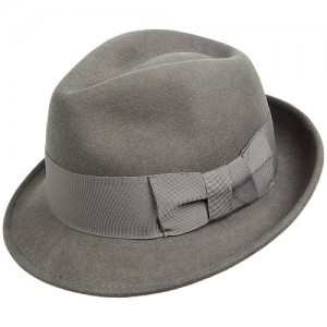 Mens Wool Felt Fedora Hats