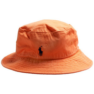 Orange Hat Bucket
