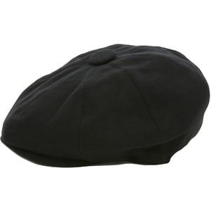 Paperboy Hat Black