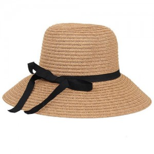 Pictures of Straw Bucket Hat