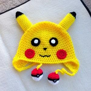 Pikachu Hat Crochet