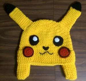 Pikachu Hat Pattern