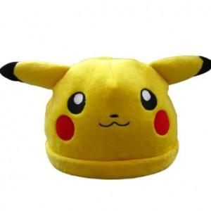 Pikachu Hat with Pokeballs