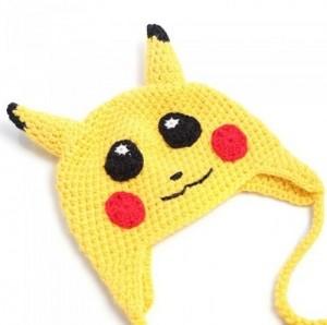 Pikachu Knit Hat