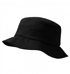 Plain Black Bucket Hats