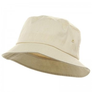 Plain White Bucket Hats