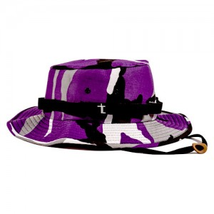 Purple Camo Bucket Hat