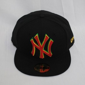 Rasta Fitted Hats