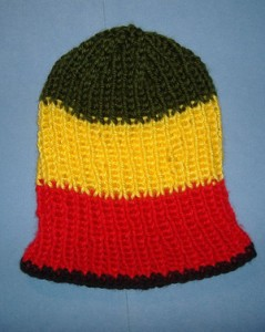 Rasta Knit Hat