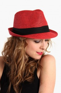 Red Fedora Hat Images