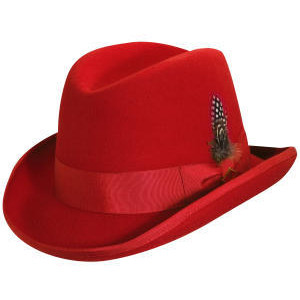 Red Fedora Hat Pictures