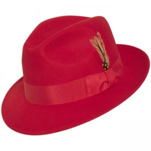 Red Fedora Hats