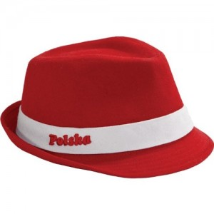 Red Fedora Hats for Men