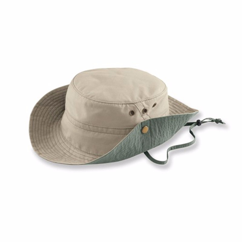 a6f10aef3f44c Buy DealStock 100 Cotton Boonie Fishing Bucket Men Safari Summer String Hat  Cap 15 Colors Shop