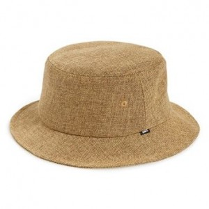 Straw Bucket Hat Mens