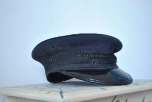 Vintage Chauffeur Hat