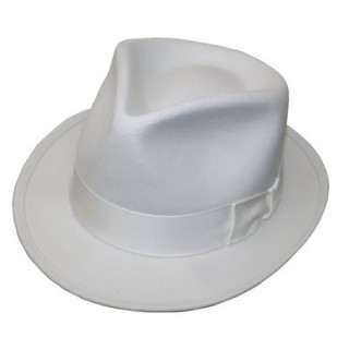 White Fedora Hats for Men