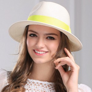 White Panama Hat Womens