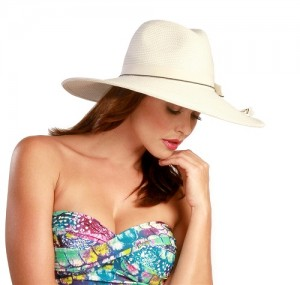 Wide Brim Fedora Hat Womens