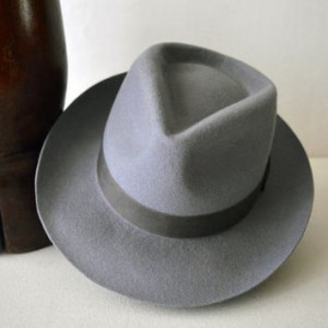 Wide Brim Fedora Hat for Men
