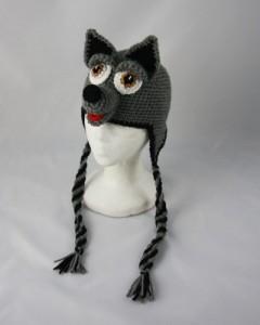 Wolf Hat Crochet Pattern