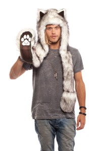 Wolf Hat with Paws