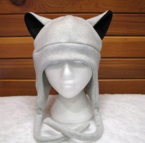 Wolf Hats with Ears