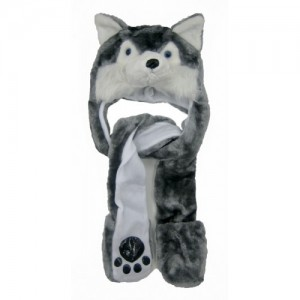 Wolf Hats with Paws