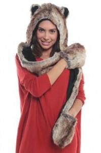 Wolf Hood Hat