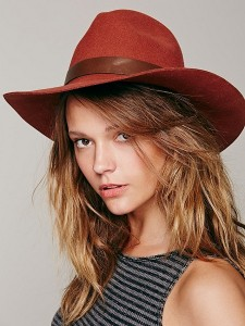 Womens Floppy Fedora Hat