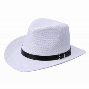 Womens White Fedora Hat