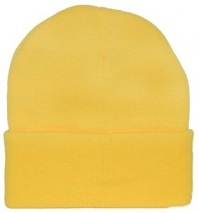 Yellow Ski Hat