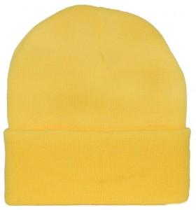 Yellow Ski Hat